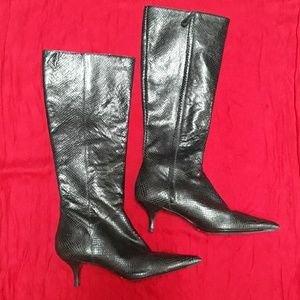 🎈REDUCED Cole Haan Snakeskin Boots